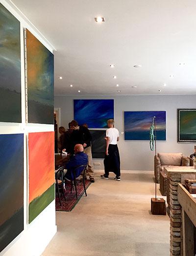 expositie workum Olestaete Ad van den Boom Dreamscapes