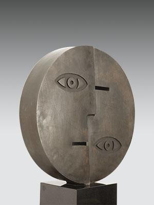 Sculpturen Compleet Ad van den Boom beeld in brons