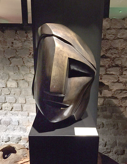 exposities maastricht Tefaf Intuïtie beeld in brons Ad van den Boom
