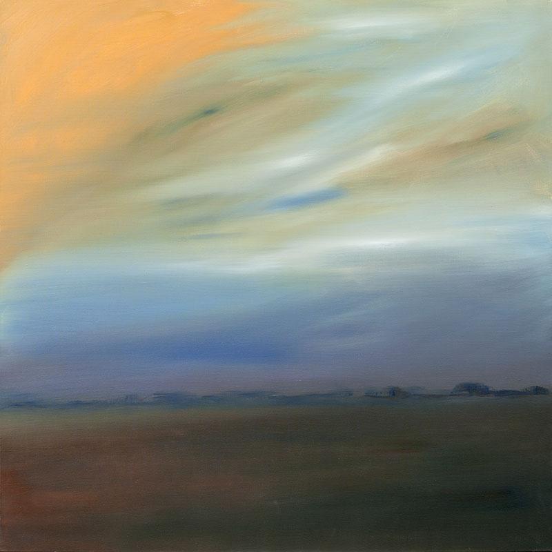 Schilderij dreamscapes landschap ad van den Boom kunstenaar realist