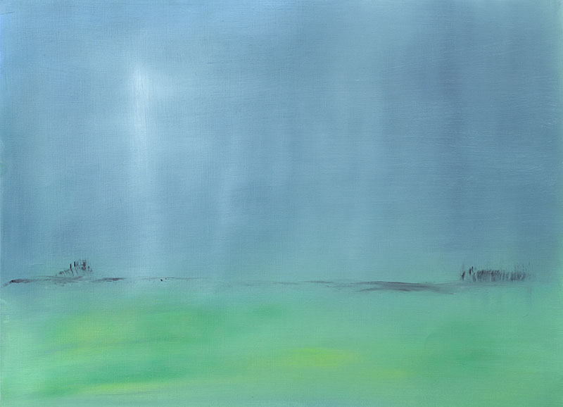 dreamscapes landschap landscape schilderij moderne kunst ad van den boom