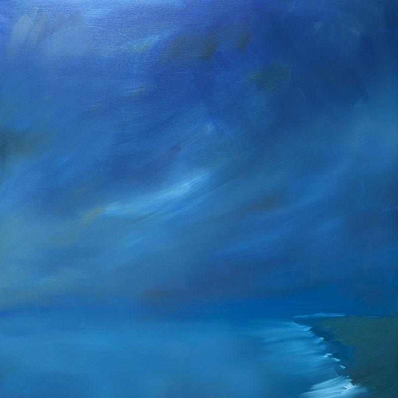 dreamscapes landschap landscape schilderij moderne kunst olieverf linnen ad van den boom