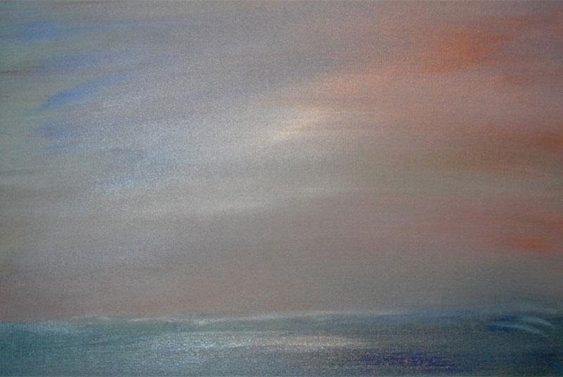 dreamscapes landschap landscape schilderij moderne kunst ad van den boom olieverf linnen