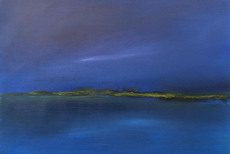 dreamscapes zeegezicht landschap schilderij ad van den boom dreamscape