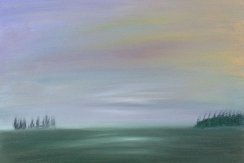 dreamscapes landscape landschap schilderij painting kunstenaar ad van den boom crealisme