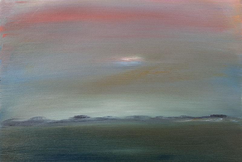 dreamscapes landschap schilderij landscape crealisme ad van den boom kunstenaar