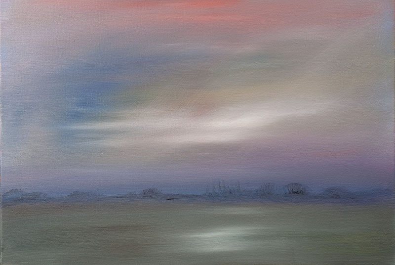 dreamscapes landschap landscape schilderij Ad van den Boom