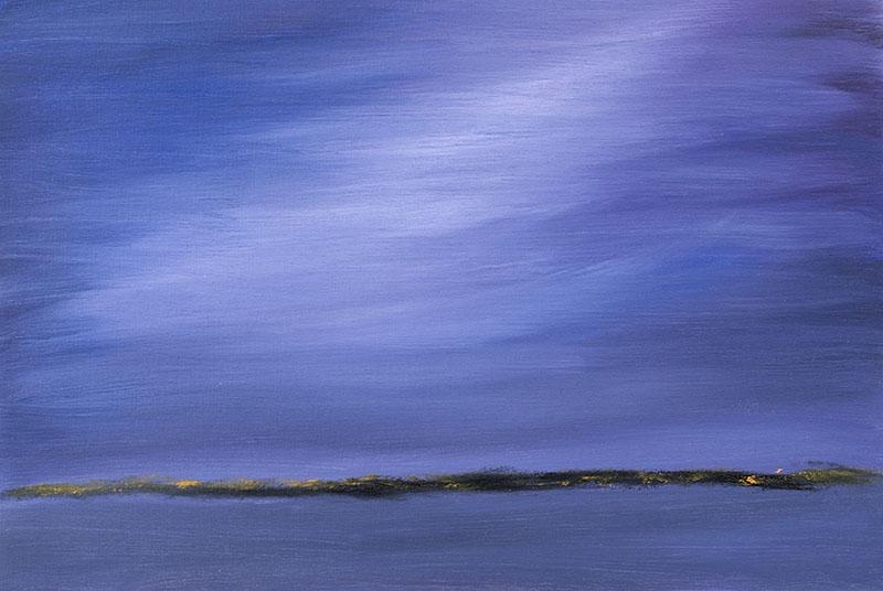 landschap landscape schilderij ad van den boom kunstenaar moderne kunst crealisme