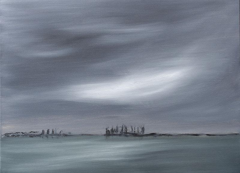 dreamscapes landschap, landscape schilderij ad van den boom