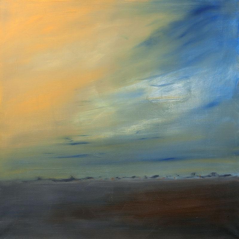 Landschap dreamscapes abstracte kunst moderne kunst ad van den Boom kunstenaar