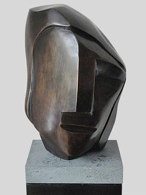 sculpturen beeld in brons
