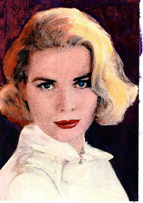 Forever Beautiful Grace Kelly, ad van den boom, crealisme