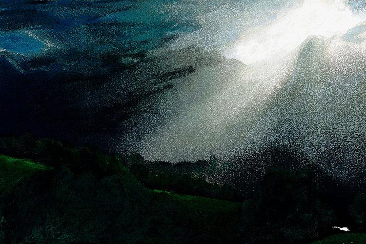 zwitserland,grächen,opklaring,berglandschap,moderne,kunst,schilderij
