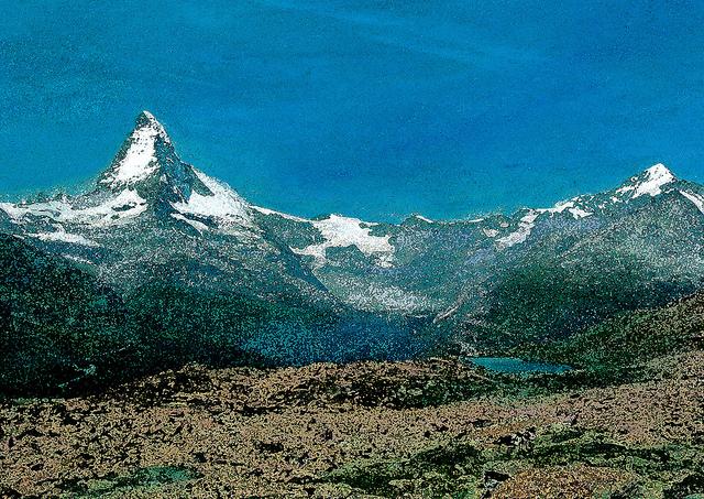 zwitserland,matterhorn,zermatt,schilderij,berglandschap,zomer,bergtoppen