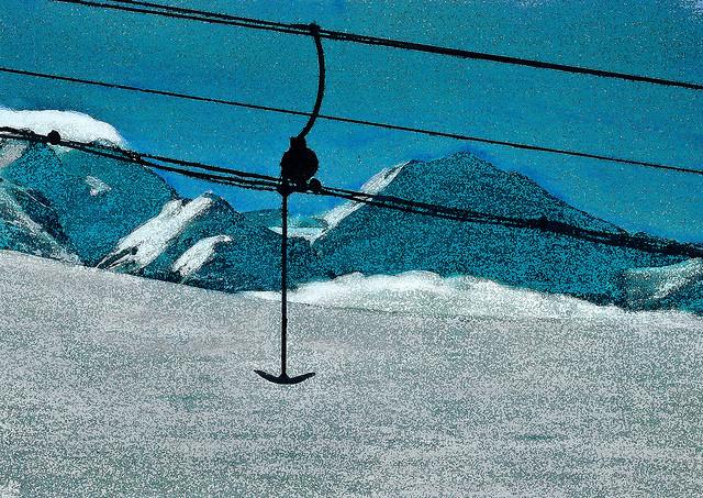 zwitserland,zermatt,schilderij,berglandschap,winter,skilift