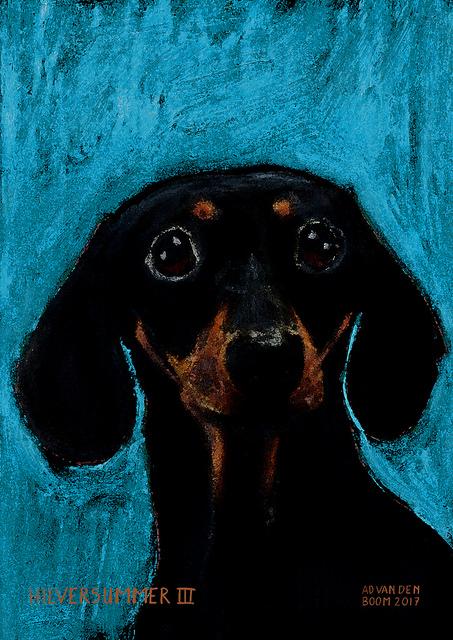wereldleiders, hond,dirk,modern,art,portret,schilderij
