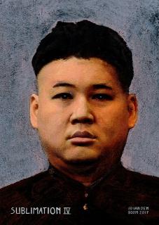 wereldleiders, kim,jung,un,modern,art,portret,schilderij