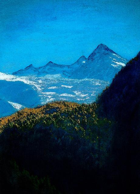 zwitserland,gletsjer,berglandschap,moderne_kunst,ad_van_den_boom