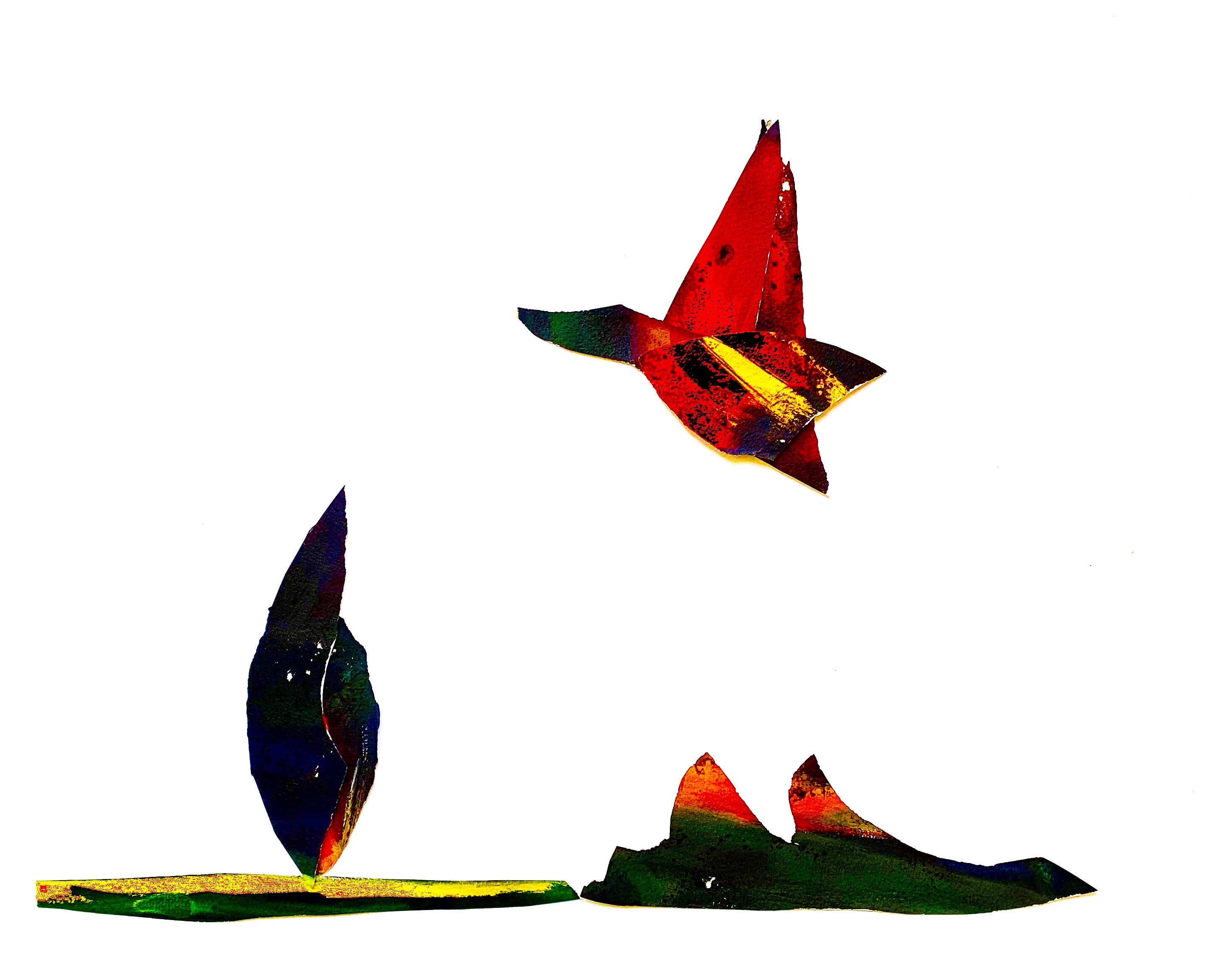 vogelvlucht eend natuur advandenboom transformatie crealism