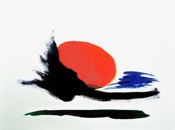 kunst schilderij abstract kunstenaar ad van den boom