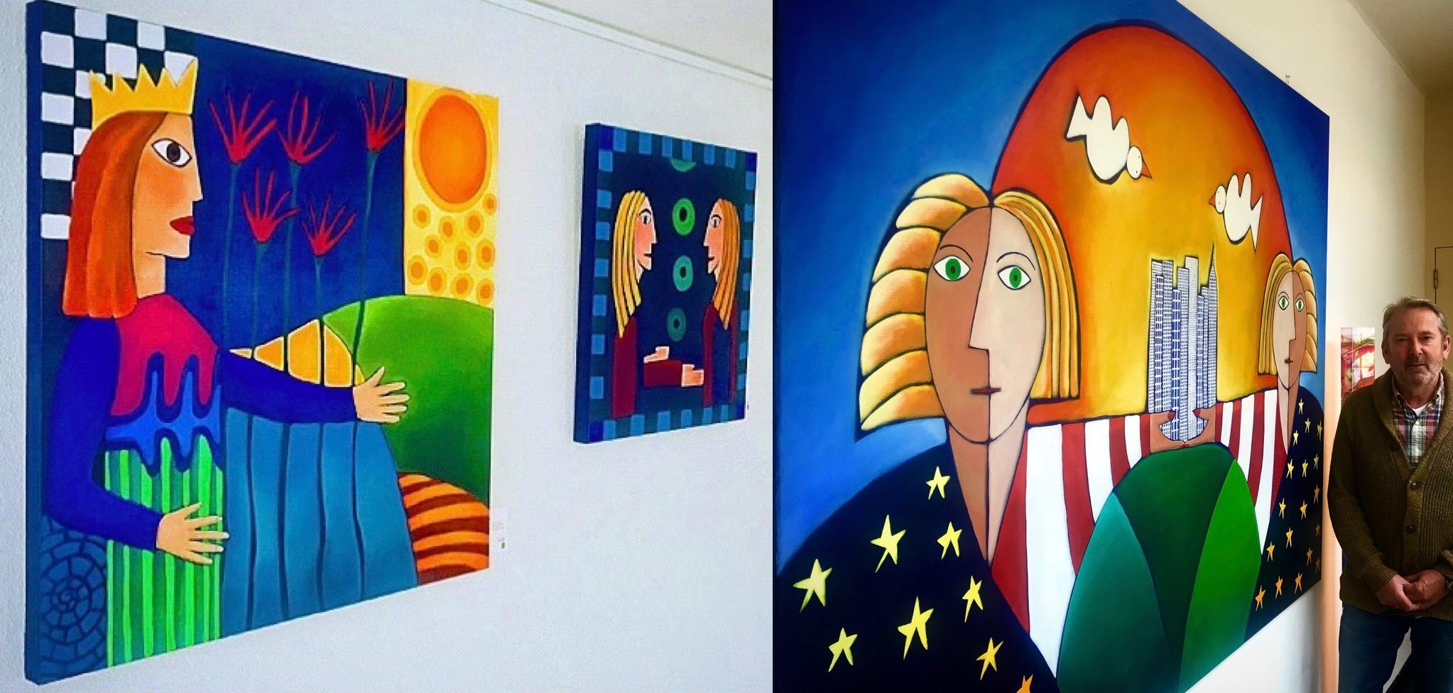expositie jan tabak bussum schilderijen beelden