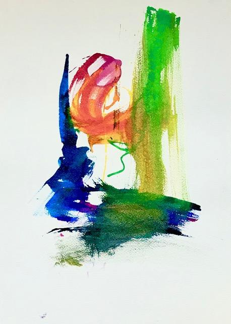 abstract schilderij tekening kunst schilder advandenboom