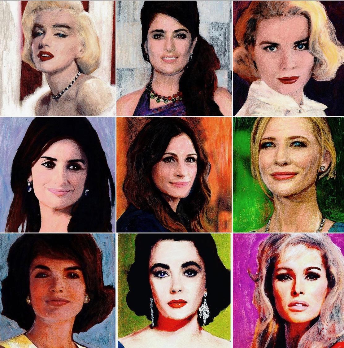 forever beautiful schilderijen advandenboom kunstenaar crealism portret