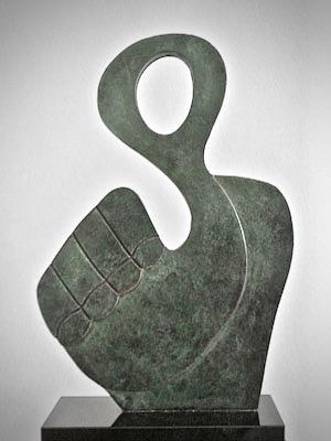 beeld sculptuur brons beeldhouwer advandenboom