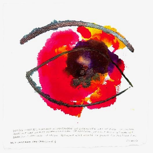 schilderij crealisme oog advandenbom