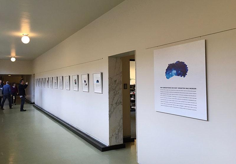mh-17 expositie raadhuis hilversum kunstenaar ad van den boom